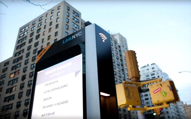 โครงการ LinkNYC แปลงตู้โทรศัพท์เป็นตู้ Wifi Hub ในนิวยอร์ค