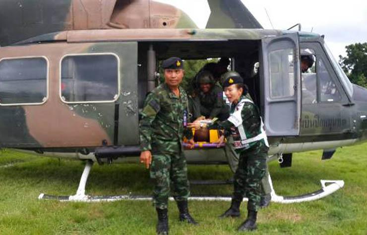 ตาก ระดมคนซ้อมแผนกู้ภัยฉุกเฉิน ค่ายวชิรปราการ มณฑลทหารบก 310