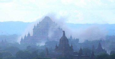 แผ่นดินไหว 6.8 ในพม่าทำเจดีย์พุกามเสียหายเกือบ 200 องค์ สะเทือนถึงไทย