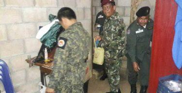 เจ้าหน้าที่ไทย-เมียนม่าร์ ประสานนายอำเภอพบพระ จับผู้ค้ายาบ้า 180,000 เม็ด