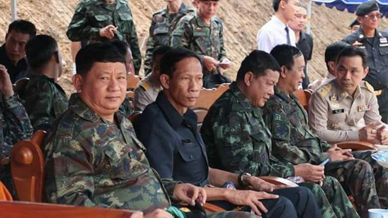 รอง ผบ.สส.ลงพื้นที่ชายแดนไทย-เมียนมาร์ ตรวจเยี่ยมกำลังพล
