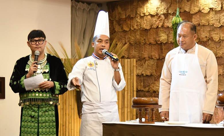 Chef's Table by Executive Chef รังสรรค์เมนูจากวัตถุดิบชุมชนห้วยปลาหลด