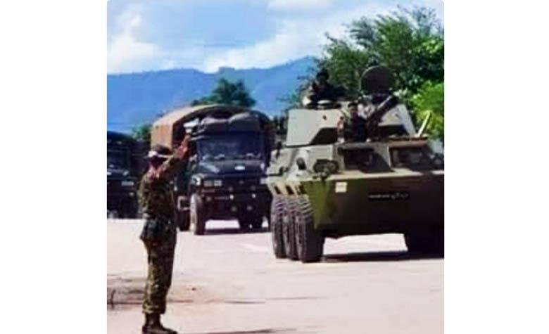 กองกำลังพันธมิตรทางเหนือ 3 กลุ่ม FUAโจมตีทหารเมียนม่า บนถนนหลวงหมายเลข 3