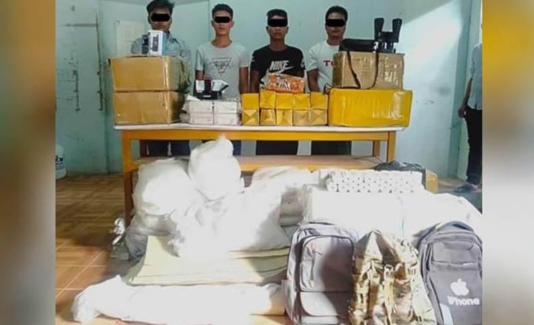 ทหาร-ตร.เมียนมา ตรวจสอบเป้าหมายสำคัญ หลังจับ 4 สมาชิกกลุ่มติดอาวุธชาติพันธุ์