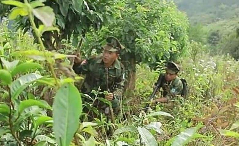 ทหารปะหล่อง PSLF/TNLA บุกเชือด ทหารไทยใหญ่ RCSS/SSA