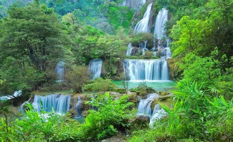 1 ตุลาคม 2562 เปิดเส้นทางรถยนต์เข้าสู่น้ำตกทีลอซู-รับฤดูการท่องเที่ยว