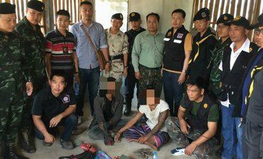 รวบหนุ่มพม่า 2 ราย ลักลอบขนยาบ้า และอาวุธปืน เข้าเมืองโดยผิดกฎหมาย