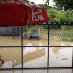 พายุเข้า-ฝนตกหนัก ทำน้ำท่วมบางพื้นที่ในเขตอำเภอแม่สอด