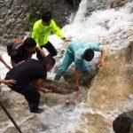 อุบัติเหตุเด็กเล่นน้ำตกแม่กาษา ติดท่อน้ำล้นเสียชีวิต